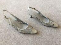 2 Pairs Ladies Sandals -Size 5