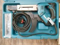 """£165 - MAKITA 6844 240v Autofeed screwdriver - 5mm hex drive – """"As New"""