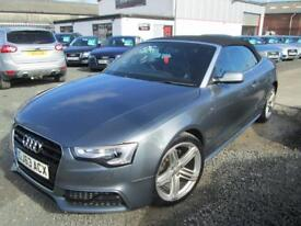 Audi A5 2.0 TDI 177 S LINE SPECIAL EDITION 2dr + BLACK LEATHER + FULLY SERVICED (grey) 2013