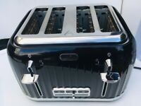 **BREVILLE BLACK 4 SLICE TOASTER**GOOD CONDITION**COLLECTION**NO OFFERS**