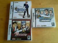 DS Games Phoenix Wright