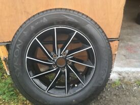4X4 ALLOY WHEELS AND NEW TYRES