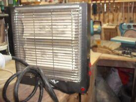 Rhino 3kw wall mounted workshop/garage heater