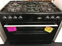 FLAVEL BRAND NEW 90CM DUAL FUEL RANGE STYLE COOKER