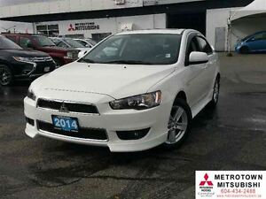 2014 Mitsubishi Lancer SE Limited; Local, Certified