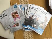 HP photo paper & envelopes
