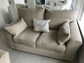 Collins & Hayes sofas one large & small