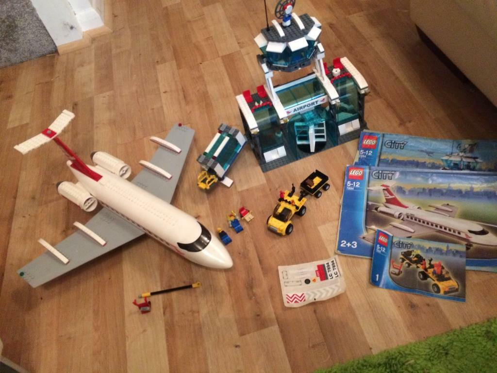 Lego City 7894 Airport Set With Instructions In Sandiacre