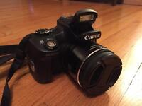 $280 Canon SX50 HS 50X 12.1 MP Long Zoom Camera with extras
