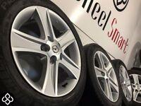 NEW GENUINE MAZDA 16'' ALLOY WHEELS & TYRES - 5 X 114.3 - 205 55 16 - GLOSS SILVER - Wheel Smart