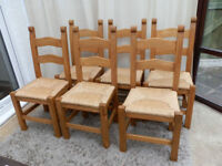 Bretton Beech Chairs x 6