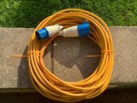 Caravan hook up cable 25 metres