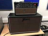 Framus Red Rogue 50W valve Head and 2 x 12 cab