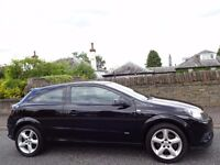 12 MONTH WARRANTY! (08) VAUXHALL ASTRA 1.9 SRi+ CDTi 150 3dr BLACK- One Owner- Very Low Mileage- FSH