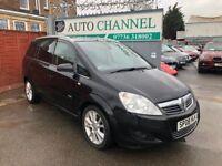 Vauxhall Zafira 1.9 CDTi 16v Design 5dr£2,795 p/x welcome FREE WARRANTY. NEW MOT