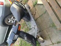 Barn find classic moped