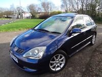 HONDA CIVIC 1.6 Vetec Executive, 2005/55, FSH, Leather, Towbar, Lovely car!