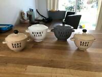 Cute bowl gift set - Teddy Bear Picnic.