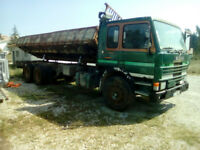 Left hand drive Scania 82 210 Turbo Intercooler 10 tyres 26 ton tipper.