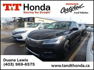 2016 Honda Accord Touring V6*Fully Loaded, NAVI, 3M Protected*