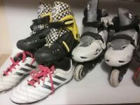 Kids roller boots assorted sizes £12