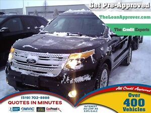 2013 Ford Explorer XLT   AWD   7PASS   LEATHER   ROOF   CAM
