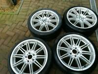 6x Genuine bmw mv4 alloy wheels 19 inch