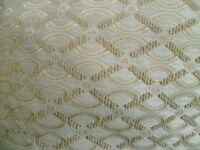 "Pair of quality Curtains 90"" x 90"" with tie backs and 4 cushion covers - Colour Sand Gold."