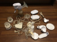 Medela electric breast pump. This item has been use only for two months.