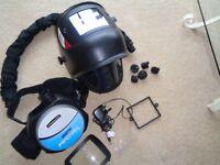 JACKSON auto-darkening welding helmet with Powered Air TL-Predator welding mask