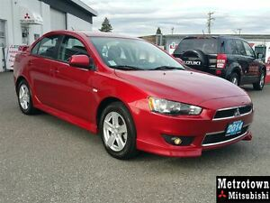 2014 Mitsubishi Lancer SE Limited Edition; CERTIFIED PRE-OWNED!