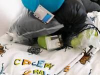 6 sleeping bags
