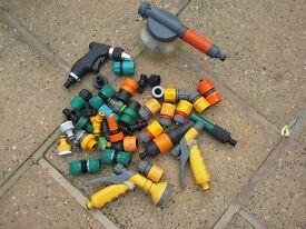 Hosepipe connectors and guns