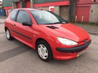 Peugeot 206 1.1 Style 3dr (1 LADY OWNER FROM NEW) 2001