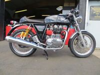 New - Royal Enfield 535cc Continental GT - £5199. Finance subject to status. 2 Yrs Full Warranty