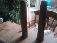 War world 2 brass anti aircraft shells ornamental