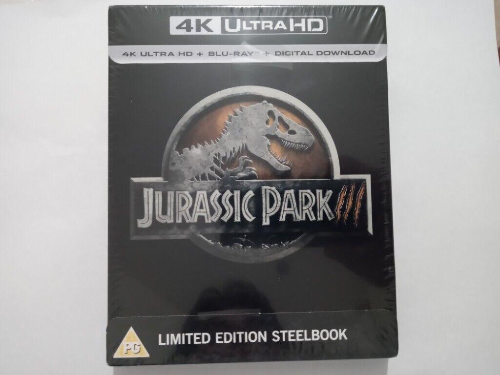 4k Ultra Hd Blu Ray Digital Download Jurassic Park Limited Edition Steelbook In Bristol City Centre Bristol Gumtree