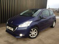 2013 (62) Peugeot 208 1.4 VTi Active 3dr 2 Previous Owners, 12 Months MOT, Full Service History
