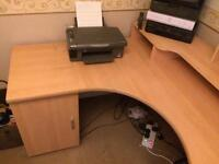 Large sturdy corner desk