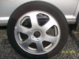 ALLOY WHEELS SET OF 4