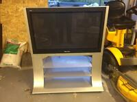 "37"" plasma tv and stand - vgc"