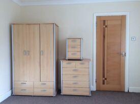 Bedroom furniture set.