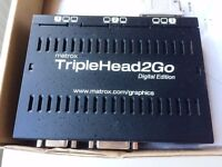 Matrox TripleHead2Go Digital Edition Complete With All Accessories