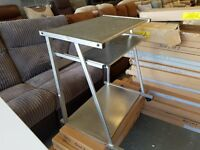 Metal PC desk - NEW
