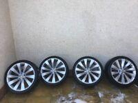 "Vw/Scirroco 19"" Alloys and Good Tyres Turbine"