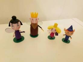 Ben & Holly's Little Kingdom Charcaters and Stands
