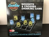 Noughts &crosses drinking game