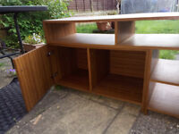 2 Part TV stand in good condition