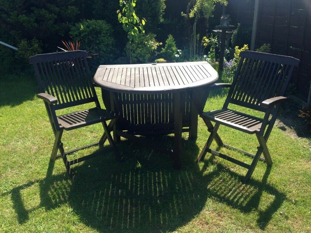 Garden Table And Two Chairs In Caister On Sea Norfolk