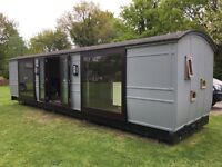 1887 Railway Carriage Great Eastern - restored and converted, holiday let, guest accomodation